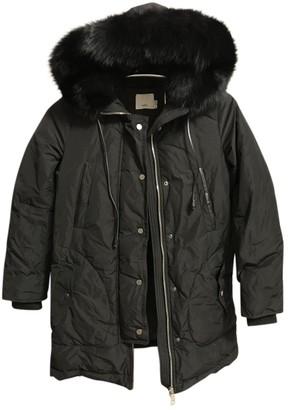 Vince Black Coat for Women
