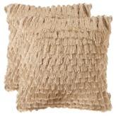 Safavieh Cali Shag Pillow Set Of 2