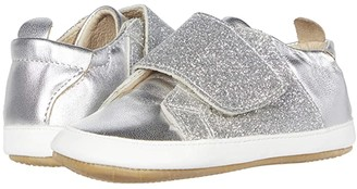 Old Soles Little Peezy (Infant/Toddler) (Silver/Glam Argent/Snow) Girl's Shoes