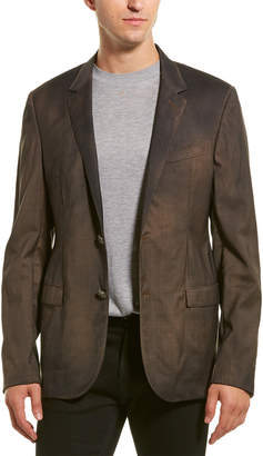 Lanvin D8 Slim Fit Wool Jacket