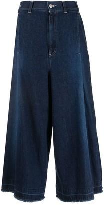 Zucca High Rise Wide Leg Jeans