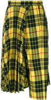 Junya Watanabe Comme Des Garçons checked flared pants