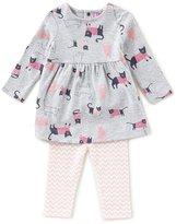 Joules Baby Girls Newborn-24 Months Christina Cat-Print Dress & Leggings Set