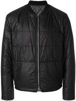 Maison Margiela collarless padded jacket