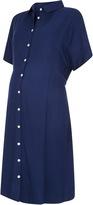 Isabella Oliver Hannet Maternity Shirt Dress