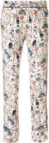 Zadig & Voltaire printed trousers