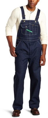 Key Industries Key Apparel Men's Hi-Back Zipper Fly Bib Overall