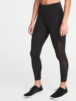 Old Navy High-Waisted 7/8-Length Run Leggings For Women
