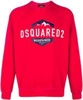 DSQUARED2 mountaineer logo sweatshirt - men - Cotton - S