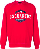 DSQUARED2 mountaineer logo sweatshirt