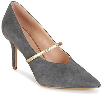 KG by Kurt Geiger V-CUT-MID-COURT-WITH-STRAP-GREY women's Heels in Grey