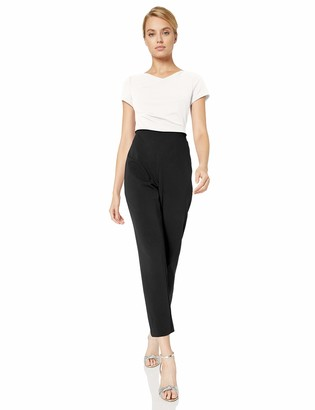 Adrianna Papell Women's Knit Crepe Cowl Neck Jumpsuit