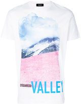 DSQUARED2 Valley print T-shirt