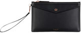 Radley Goose Green Leather Wristlet Purse