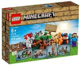 Lego ; Minecraft Creative Adventures Crafting Box 21116
