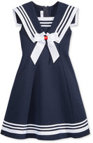Bonnie Jean Fit & Flare Sailor Dress, Toddler & Little Girls (2T-6X)