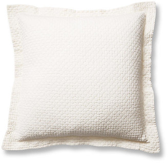 Peacock Alley Juliet Euro Sham - Pearl