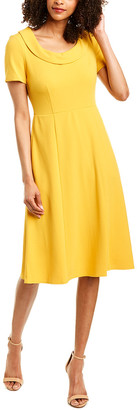 Donna Morgan Light Crepe Sheath Dress