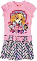 Nickelodeon Paw Patrol Skye Girls' Mod Dress Pink Size 5