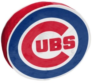 Northwest Company Chicago Cubs 15inch Cloud Pillow