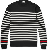 Saint Laurent Striped Wool Sweater