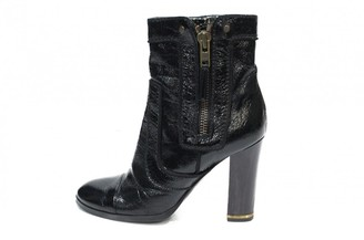 Stella McCartney Stella Mc Cartney Black Patent leather Ankle boots
