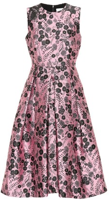 Erdem Indra floral brocade dress