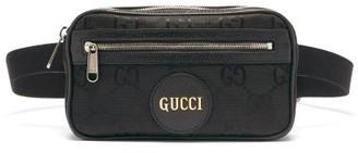 Gucci Off The Grid Gg-jacquard Canvas Belt Bag - Black