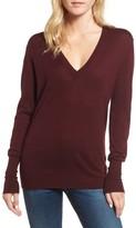 AG Jeans Women's Uma V-Neck Cashmere Sweater