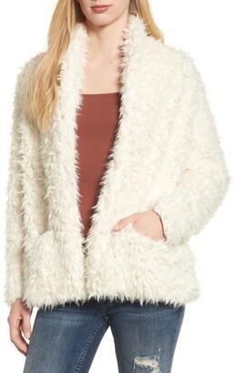 Love, Fire Faux Fur Jacket