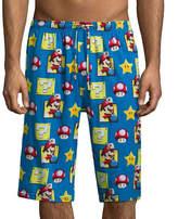 Asstd National Brand Nintendo Super Mario Knit Pajama Shorts