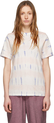Etoile Isabel Marant Pink and Blue Dena T-Shirt