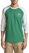 Brixton Men's Wheeler Graphic Baseball T-Shirt