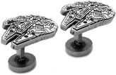 Star Wars STARWARS Millenium Falcon Etched Cuff Links