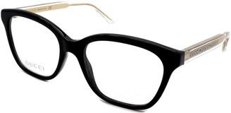 Gucci Men's Gg0566o 52Mm Optical Glasses