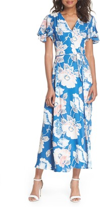 French Connection Verona Crepe Maxi Dress