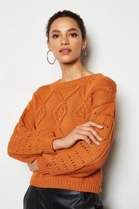 Karen Millen Cotton Mix Capsule Knit Jumper