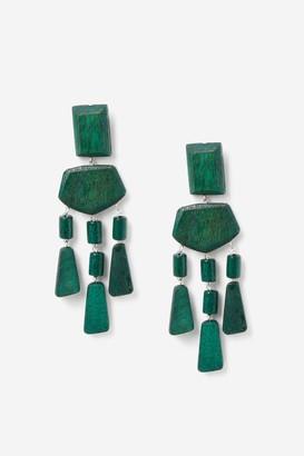 Topshop Wooden Mobile Drop Earrings