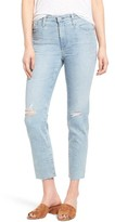 AG Jeans Women's The Isabelle Crop Straight Leg Jeans