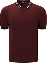 Fred Perry Bomber Collar Polo Top
