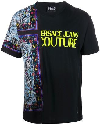 Versace paisley-print crew neck T-Shirt
