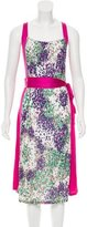 M Missoni Sleeveless Polka Dot Dress