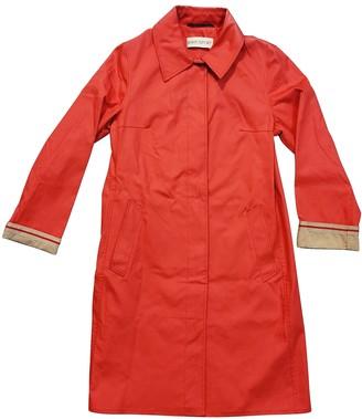 Ramosport Red Cotton Coat for Women