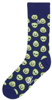 Original Penguin Aliens Avocados Sock