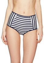 New Look Women's Textured High Waist Bikini Bottoms,8