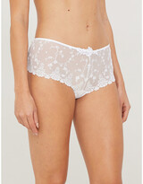 Passionata White Nights lace shorty briefs