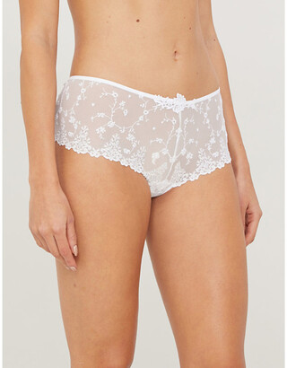 Passionata White Nights lace shorty briefs