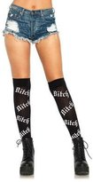 Leg Avenue Psycho Bitch Over The Knee Socks