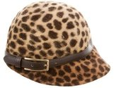 Eugenia Kim Cheetah Printed Cap