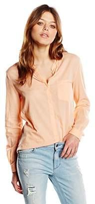 BOSS Women's Efelize_6 Blouse, Light/Pastel Orange 835, (Size: 40)